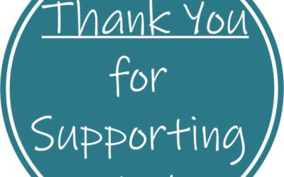 Thank You for Supporting Us!